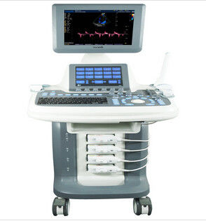 Intelligent 3D / 4D Trolley Ultrasound Scanner Double Screens