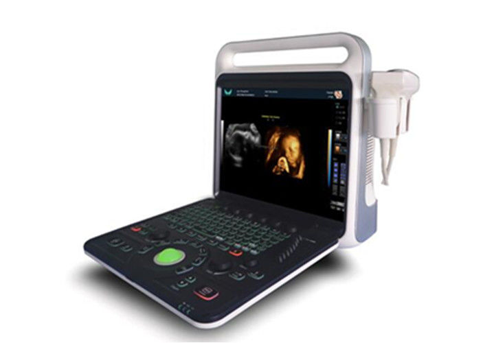 15 Inches Color Doppler Ultrasound Scanner Machine High Resolution LCD Screen
