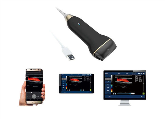 USB Ultrasonic Transducer Probe Handheld Ultrasound Scanner Wireless Only 150g Weight