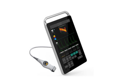 Mesin Colour Doppler Color Ultrasound Scanner Dengan Monitor Sentuh Medis 18,5 ""