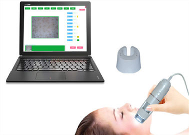 Cina Smart Video Dermatoscope Kamera Kulit Wajah Moisture HD Intelligent Skin Analyzer pabrik